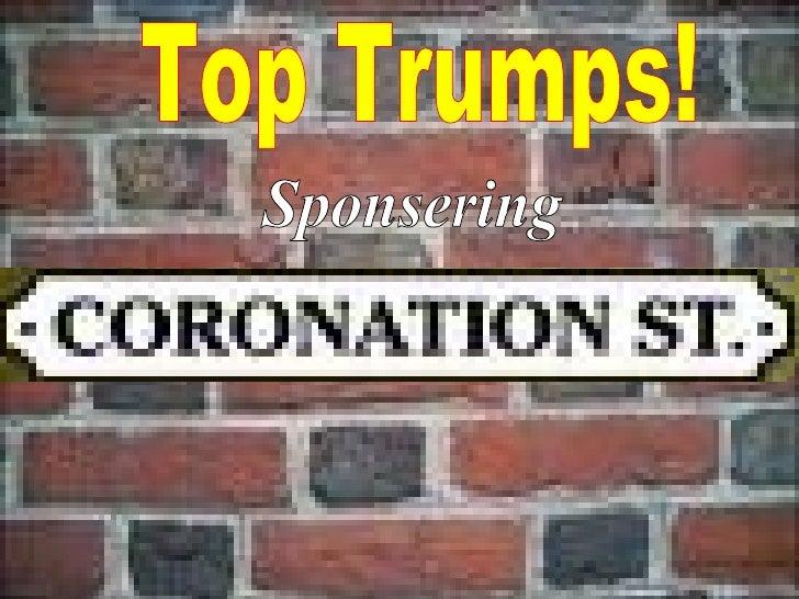 Sponsering Top Trumps!
