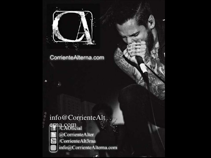 info@CorrienteAlterna.com