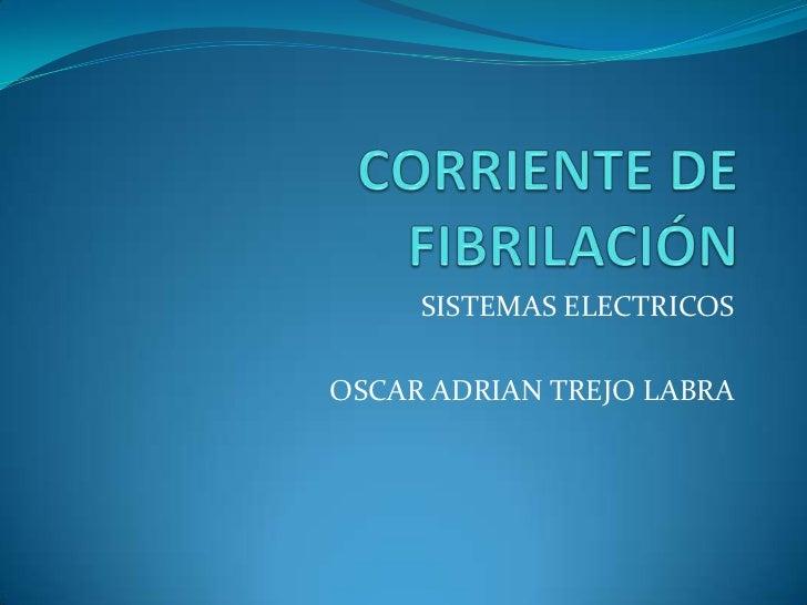 SISTEMAS ELECTRICOSOSCAR ADRIAN TREJO LABRA