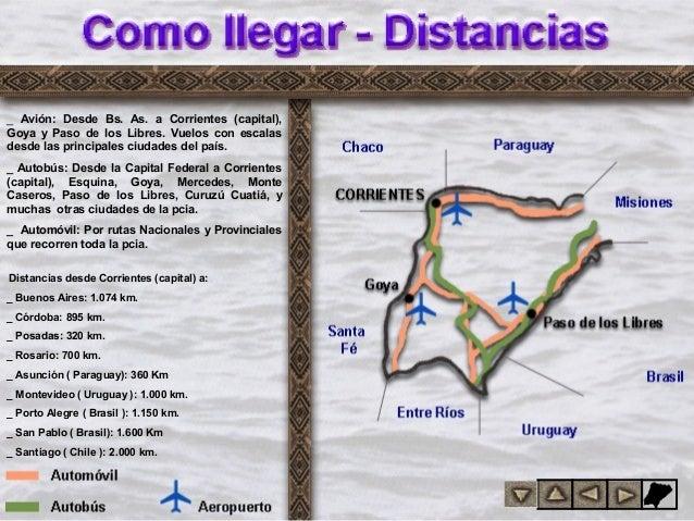 Ubicación geográfica Distancias Rutas; 8. anci