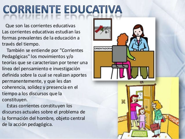 Corrientes de la Orientacion Educativa Slide 2