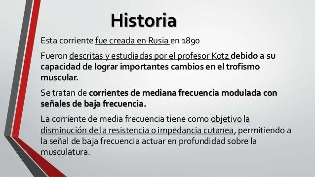 Corrientes Kotz o Rusas Slide 2