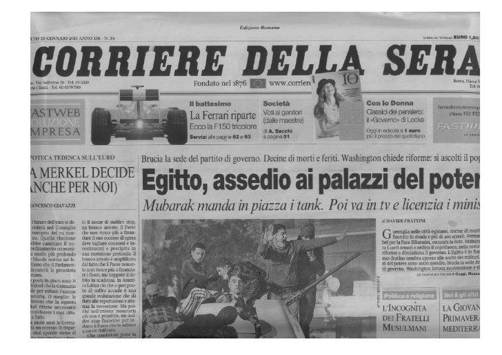 Corriere della Sera - 29 gennaio 2011: Hassler Roma