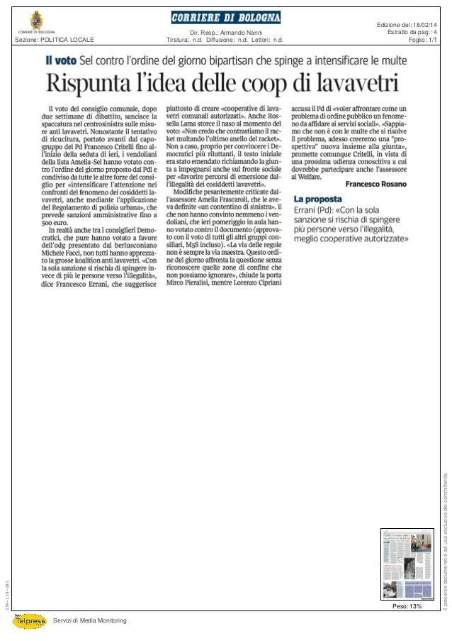 Rispunta l'idea delle cooperative per i lavavetri a Bologna