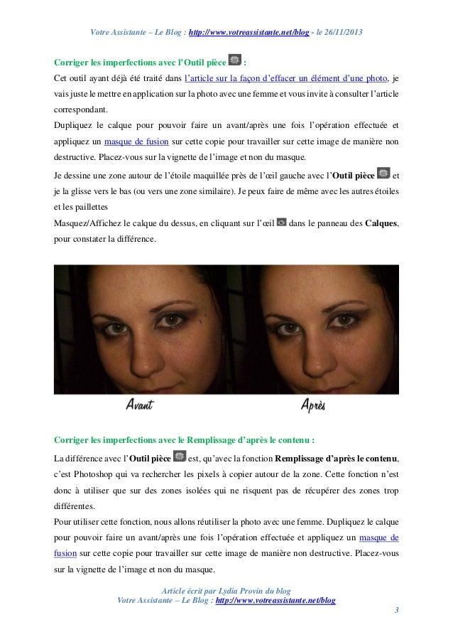 Corriger les imperfections de la peau avec Photoshop Slide 3