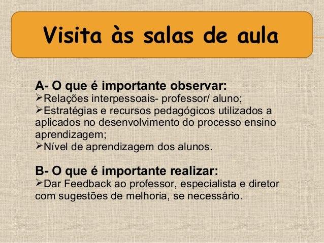 Corrigido planejando as visitas às salas de aula - Slide 3