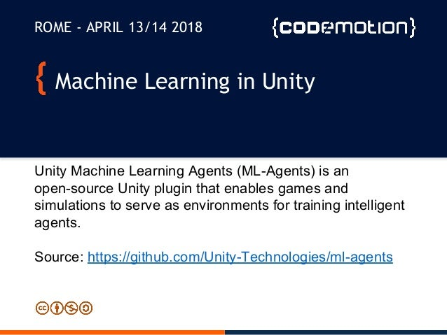 Machine Learning for videogames in Unity3D - Fabio