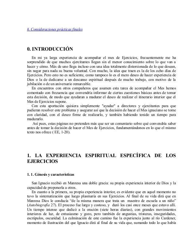 Josep Luis Corrons. Cómo y cuándo hacer los ejercicios espirituales 1 Slide 2