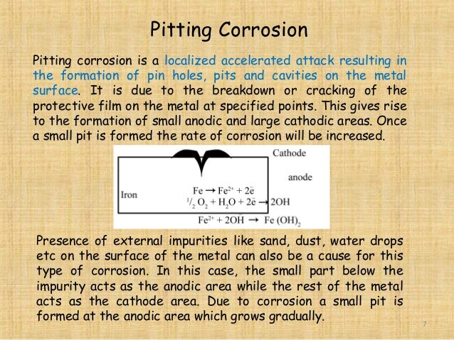 causes of corrosion in metals pdf