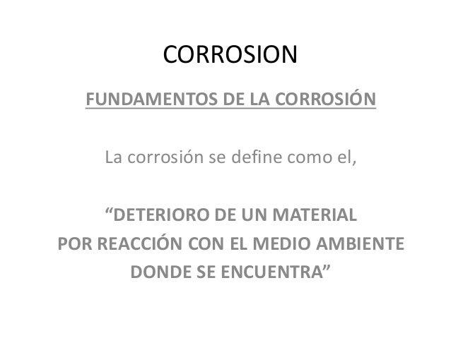 TIPOS DE CORROSION EN AVIACION  Slide 2