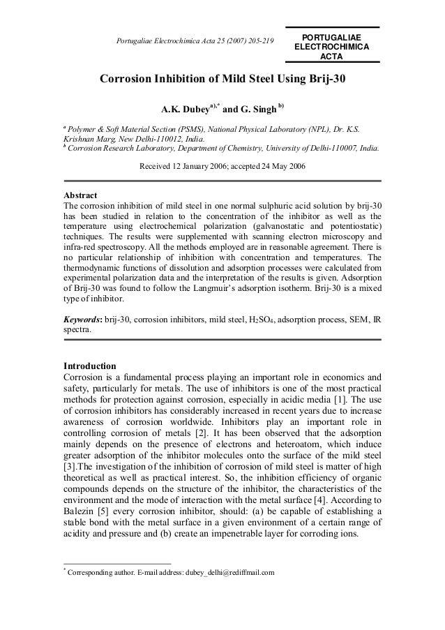 Portugaliae Electrochimica Acta 25 (2007) 205-219    PORTUGALIAE                                                          ...