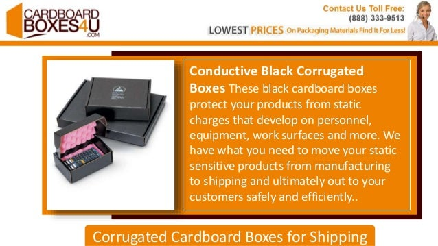 Corrugated Cardboard Boxes for Shipping | CardboardBoxes4U com