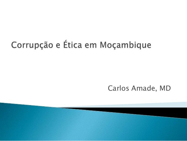 Carlos Amade, MD