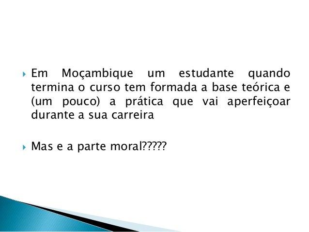 Corrupcao e etica em Mocambique Slide 2