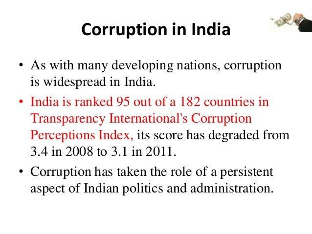 Judiciary, crime and corruption