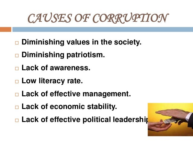 corruption  liberalization and globalization 14 causes of corruption