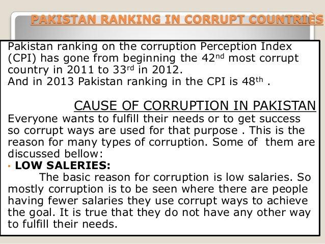 corruption in pakistan essay in english