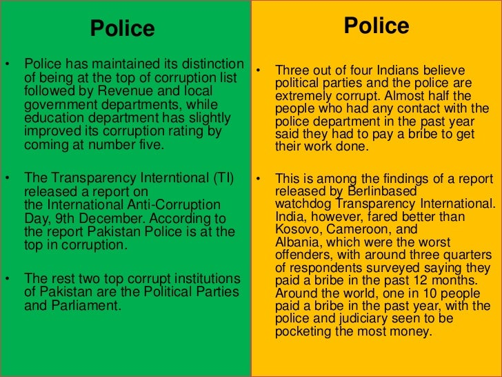 corruption plus wonderful governance throughout pakistan essay