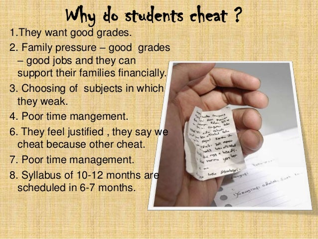solution of cheating in exam