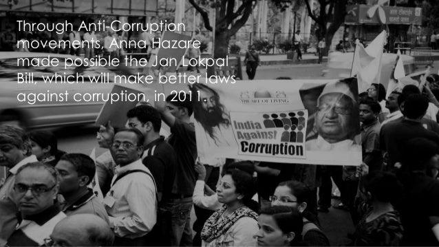 Corruption in India – Speech