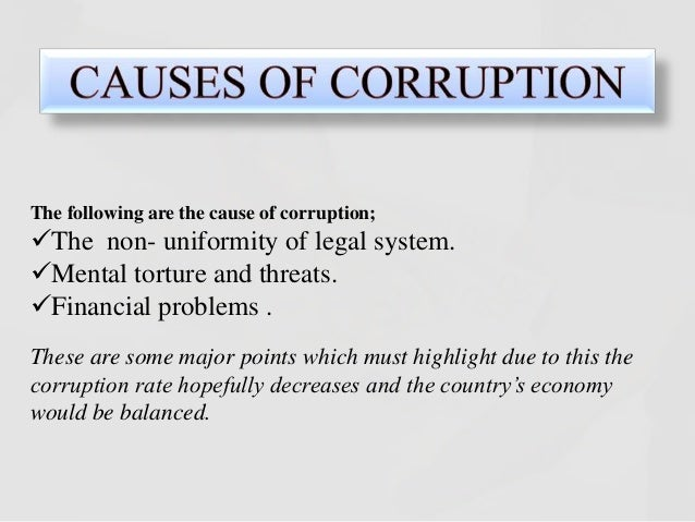 essay on causes of corruption in india Essay on Corruption in Public Services | India | Public Administration