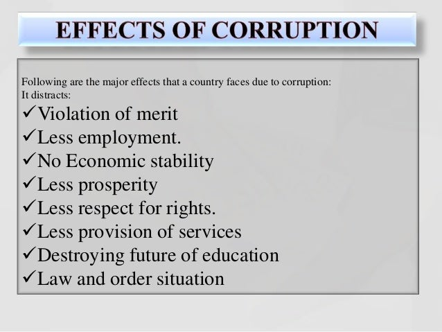corruption in the government essay Political corruption is a persistent phenomenon in nigeria president muhammadu buhari defined corruption as the greatest form of human right violation since the creation of modern public administration in the country, there have been cases of official misuse of funds and resources the rise of public administration and.