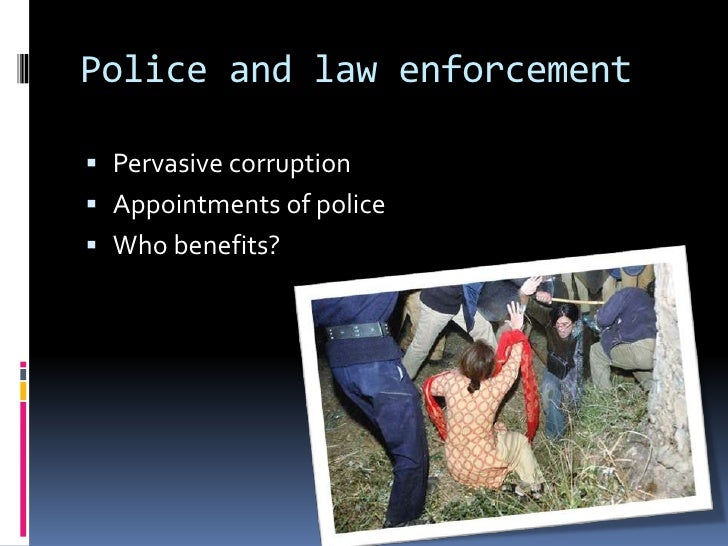 an analysis of marxian theory of police corruption in law enforcement 2 for other surveys of the theory of public enforcement  perform the same analysis when enforcement is uncertain because corruption of law enforcers, and the.