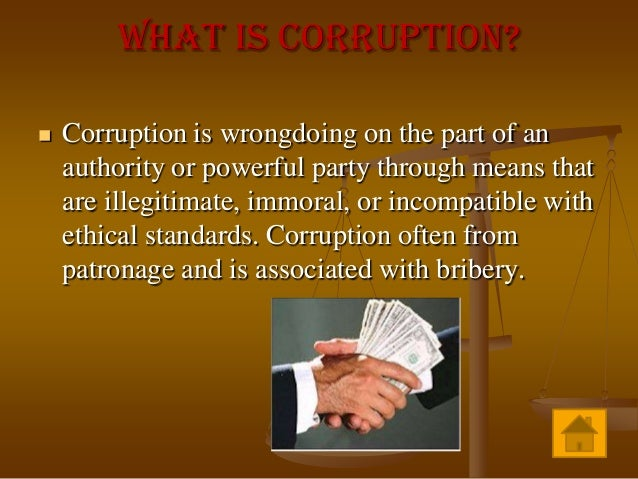 corruption education system essay Jim yong kim describes how publishing school funding allocations in   politically, corruption undermines the legitimacy of political systems by.