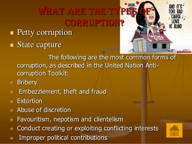 essay points on corruption Police corruption essay examples police corruption proves this point through its exploration of how the experience of corruption can have major negative.