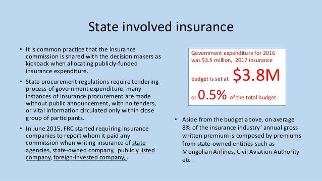 Corruption risk in insurance, Mandal Insurance