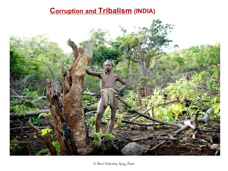 C orruption and  Tribalism  (INDIA)