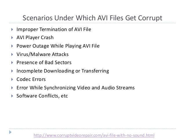 how to fix corrupted video files yahoo