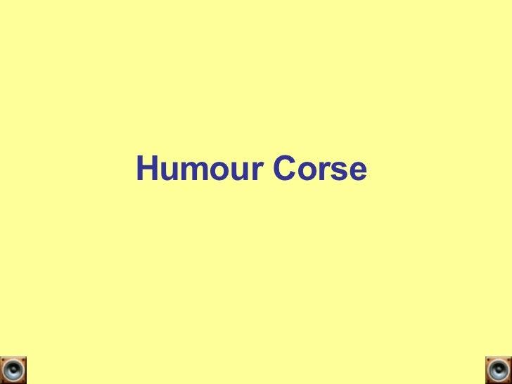Humour Corse