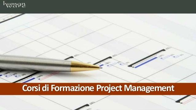 CorsidiFormazione ProjectManagement