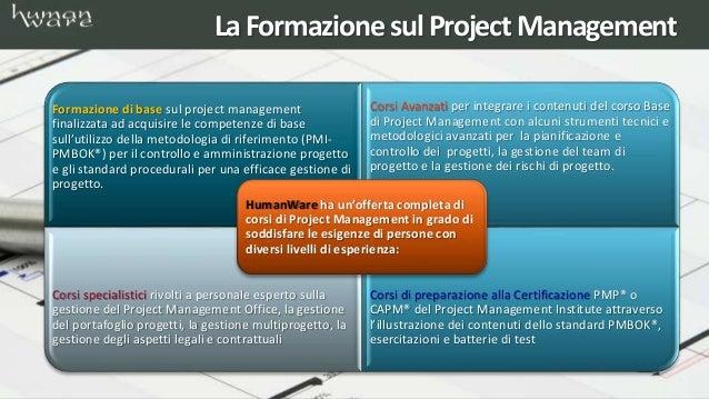 Corsi di formazione project management Slide 2