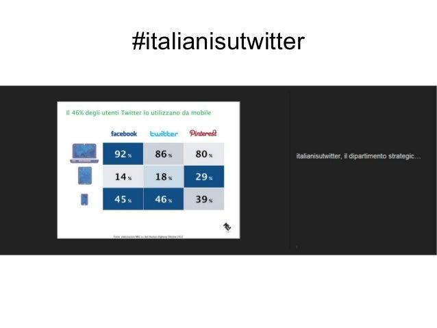 #italianisutwitter