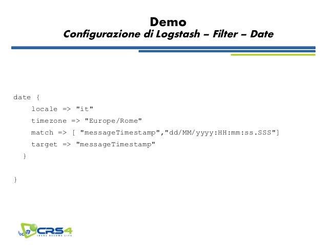 Logstash + Elasticsearch連携時のLogstash confメ …