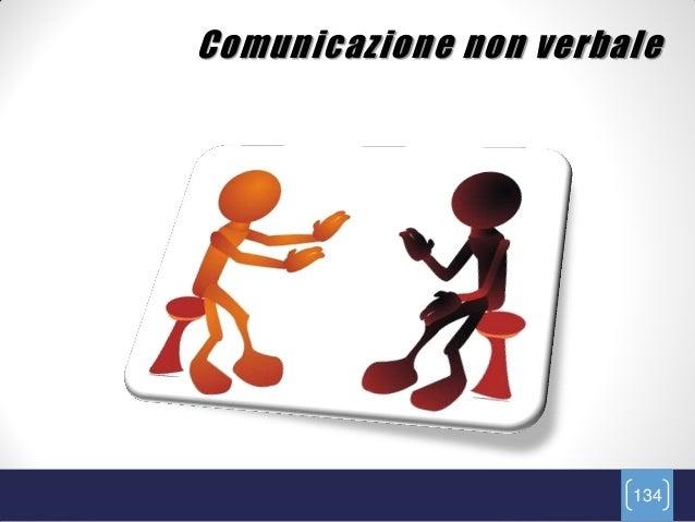 Comunicazione non verbale                       134