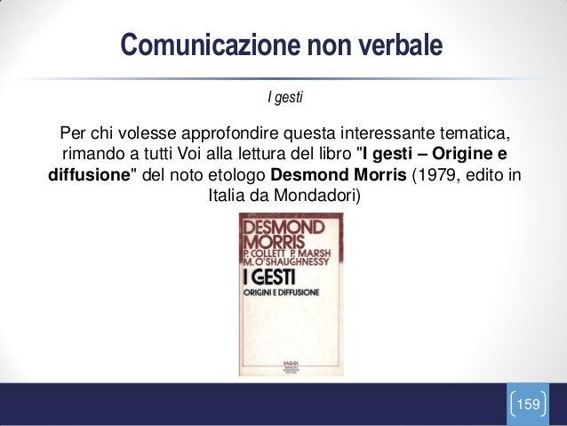Comunicazione non verbale                              I gesti Per chi volesse approfondire questa interessante tematica, ...