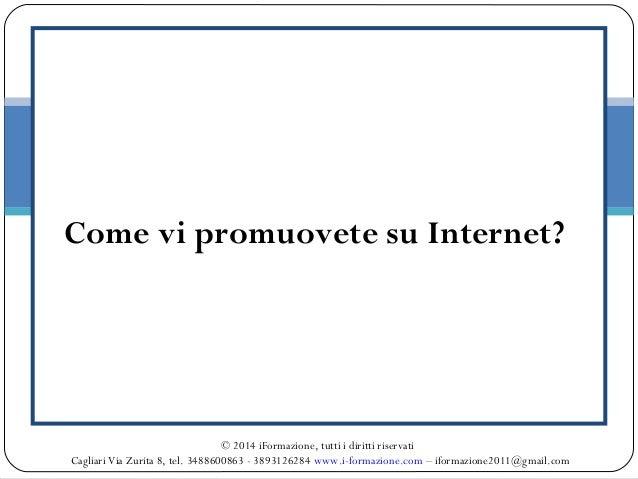 Corso di Social Media Marketing (Facebook, Linkedin, Twitter, Google Plus) Slide 3