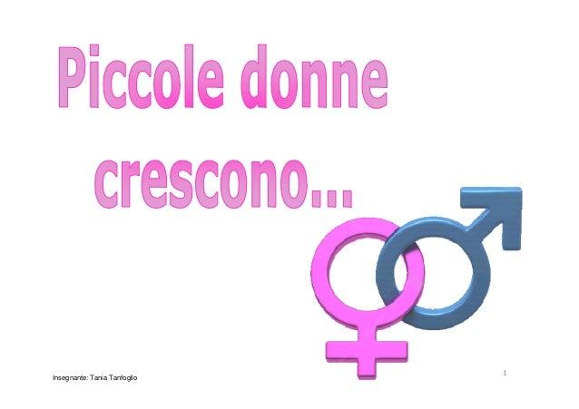1Insegnante: Tania Tanfoglio