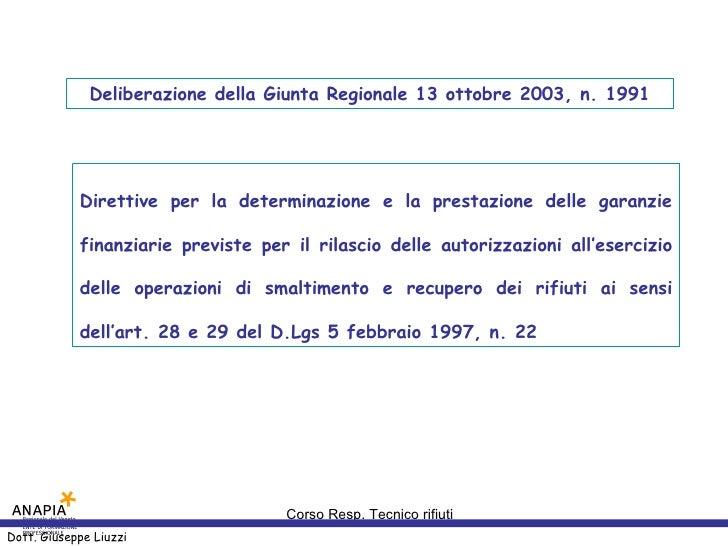 Deliberazione della Giunta Regionale 13 ottobre 2003, n. 1991                 Direttive per la determinazione e la prestaz...
