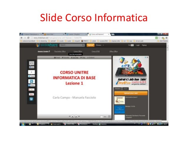 Slide Corso Informatica
