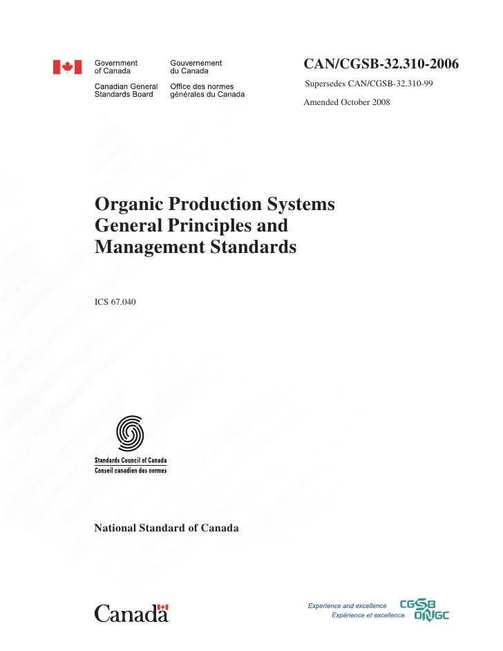 CAN/CGSB‑32.310-2006                              Supersedes CAN/CGSB-32.310-99                              Amended Octo...