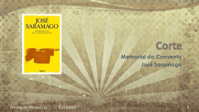 Memorial do Convento José Saramago Português Módulo 12 Turismo 1