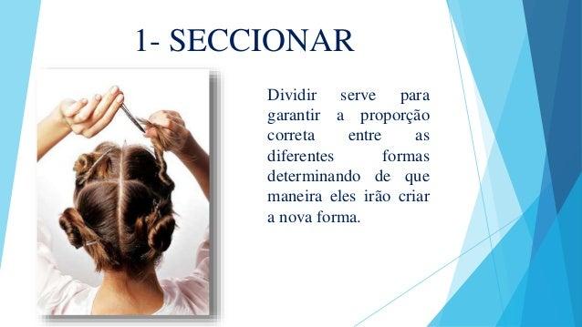 1- SECCIONAR Dividir serve para garantir a proporção correta entre as diferentes formas determinando de que maneira eles i...