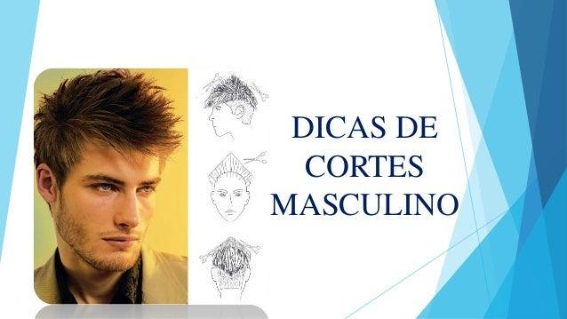 DICAS DE CORTES MASCULINO