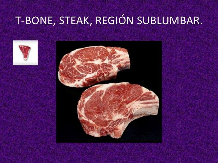 Cortes o piezas de carnes locales o p for De donde se obtiene el marmol