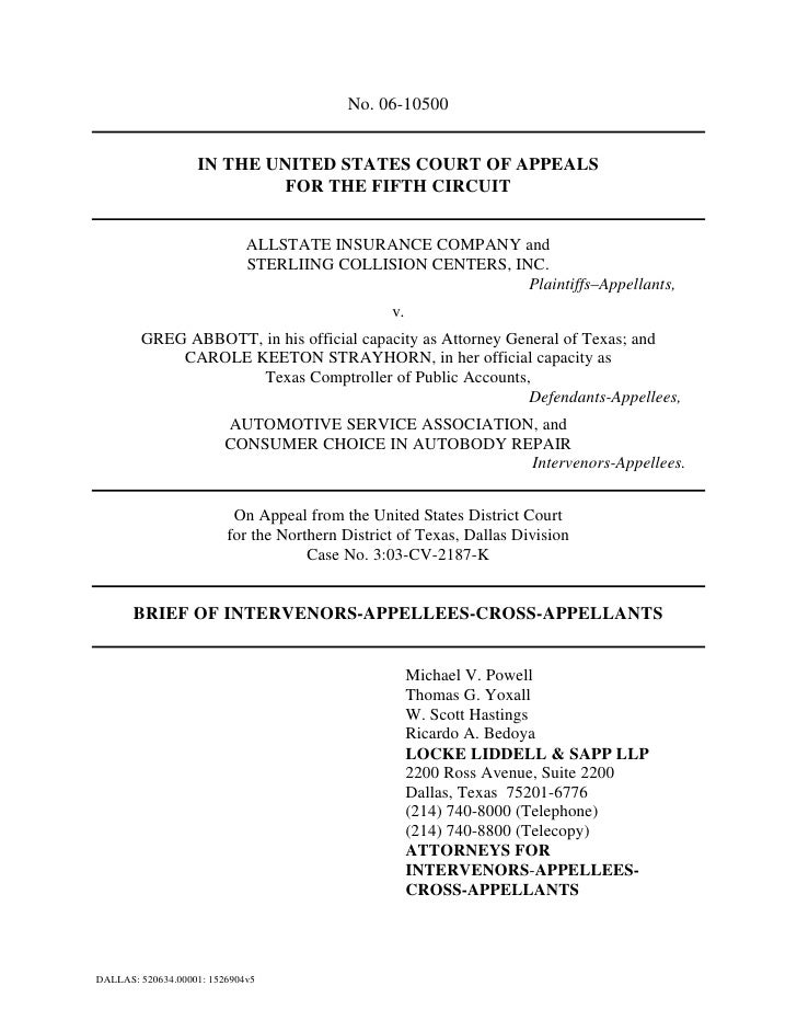 No. 06-10500                      IN THE UNITED STATES COURT OF APPEALS                             FOR THE FIFTH CIRCUIT ...
