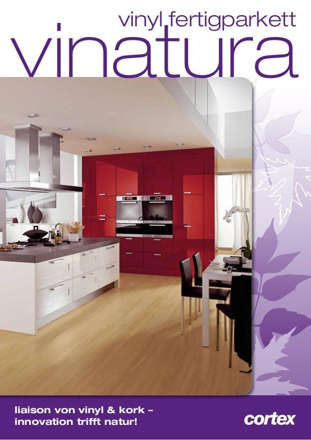 vinatura vinyl fertigparkett  liaison von vinyl & kork – innovation trifft natur!